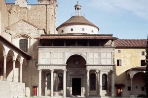 La cappella de'Pazzi a Firenze