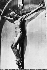 Crocifisso: scultura in legno di Brunelleschi conservata nella Basilica di Santa Maria Novella a Firenze