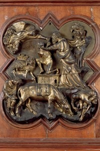 Sacrificio di Isacco di Filippo Brunelleschi