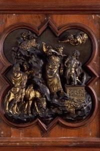 Sacrificio di Isacco di Lorenzo Ghiberti