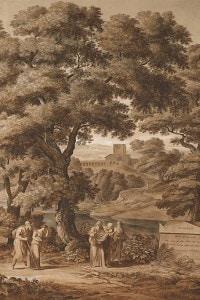 Edipo e Antigone lasciano Tebe, 1797. Collezione del museo Albertina, Vienna