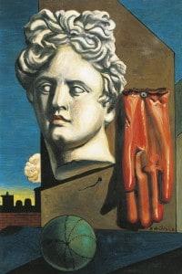 Canto d'amore di Giorgio de Chirico
