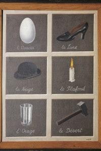 La chiave dei sogni di Magritte