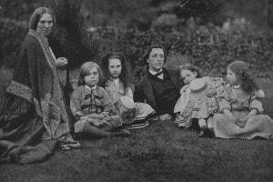 Lewis Carroll e i suoi quattro figli