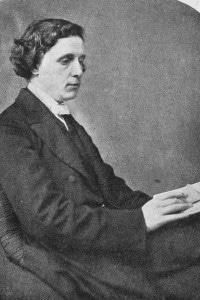 Ritratto di Lewis Carroll, 1870
