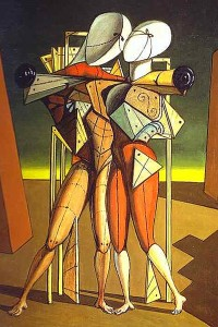 Ettore e Andromaca di Giorgio de Chirico