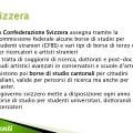 Borse di studio per la Svizzera