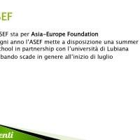 Borse di studio erogate dall'ASEF