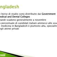 Borse di studio per il Bangladesh