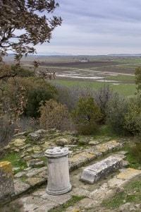 Sito archeologico. Antica città di Troia vicino a Canakkale, in Turchia