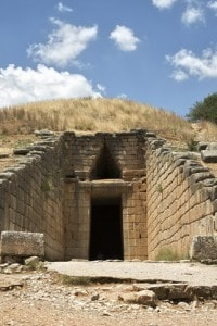 Tomba di Agamennone nella necropoli di Micene