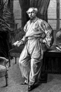 Alexandre Dumas a casa