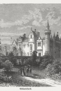 Abbotsford House: residenza di Walter Scott, costruita tra il 1817 e il 1824
