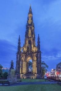 Monumento a Walter Scott, Edimburgo
