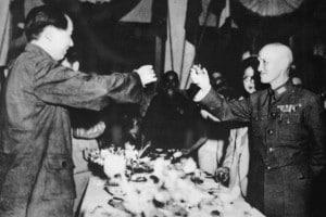 Mao Zedong e Chiang Kai-shek, 1946