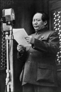Il 1 ottobre 1949 Mao Zedong proclama a Pechino la nascita della Repubblica popolare cinese