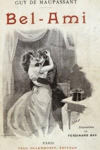 """Frontespizio del libro """"Bel-Ami"""" di Guy de Maupassant (Edizione del 1895)"""