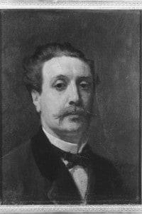 Ritratto di Guy de Maupassant: opera di Auguste Feyen-Perrin, conservata al Museo dei castelli di Versailles e del Trianon