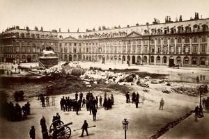Comune di Parigi, 1871: demolizione della Colonna Vendome