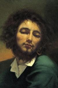 Gustave Courbet, autoritratto con pipa: olio su tela, cm 46x38