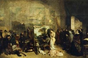 L'atelier del pittore di Courbet (1855)