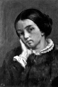 Ritratto di Zelie Courbet, sorella del pittore Gustave