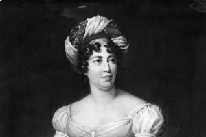 Un ritratto di Madame de Stael