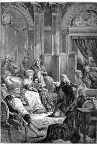 Salotto di Madame de Stael