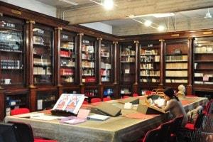 La Biblioteca umanistica Sala Rari di Firenze