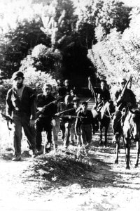 Ernesto Che Guevara nella Sierra Maestra