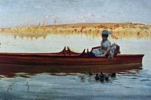 Giuseppe de Nittis, Duck feeding