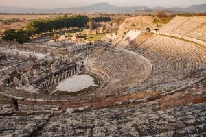 Il Teatro greco di Efeso