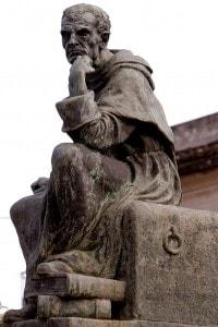 Il monumento a Tommaso Campanella a Stilo
