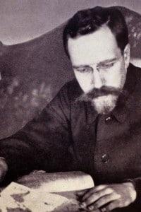 Lev Borisovich Kamenev (1883-1936), rivoluzionario bolscevico che fu processato e condannato a morte nel periodo delle Grandi purghe
