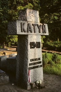 Memoriale di guerra del massacro di Katyn, Varsavia
