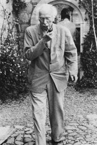 Lo psichiatra svizzero Carl Gustav Jung (1875-1961), il fondatore della psicologia analitica. Circa 1960