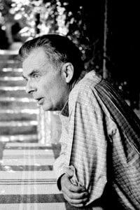 Aldous Huxley al Festival di Vaison-la-Romaine, luglio 1954