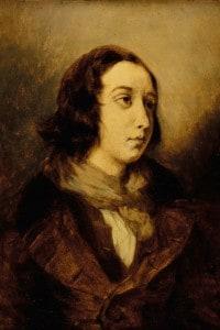George Sand (Aurore Dupin) vestita da uomo, 1834