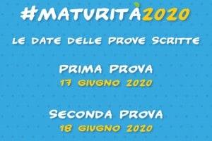 Date maturità 2020: il calendario dell'esame di Stato