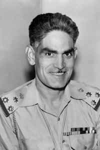Il generale Abd al-Karim Qasim, Primo Ministro iracheno dal 1958 al 1963