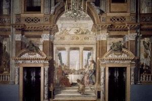 Il banchetto di Cleopatra: affresco di Giambattista Tiepolo. Palazzo Labia, Venezia