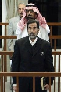 Il processo a Saddam Hussein