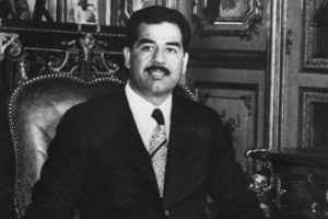 Saddam Hussein Vice Presidente della Repubblica dell'Iraq, giugno 1972
