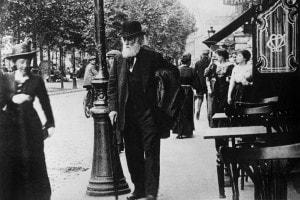 Edgar Degas a Parigi, 1905