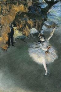 L'Étoile di Edgar Degas