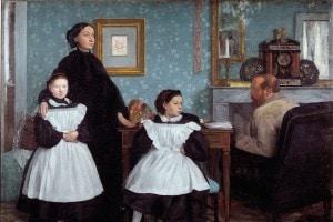 La famiglia Bellelli di Edgar Degas