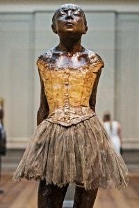 La piccola ballerina: scultura di Edgar Degas