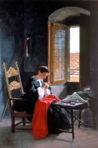 """""""26 aprile 1859"""" di Odoardo Borrani"""