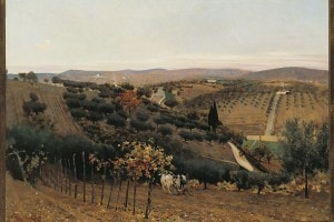 Autunno nella campagna di Siena di Telemaco Signorini
