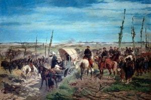 Il campo italiano alla battaglia di Magenta, dipinto di Giovanni Fattori